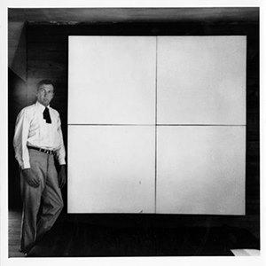 Robert Rauschenberg. White Painting. 1951